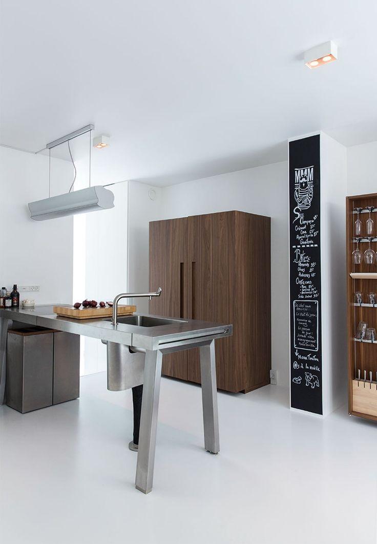 Industrielt look i køkkenet