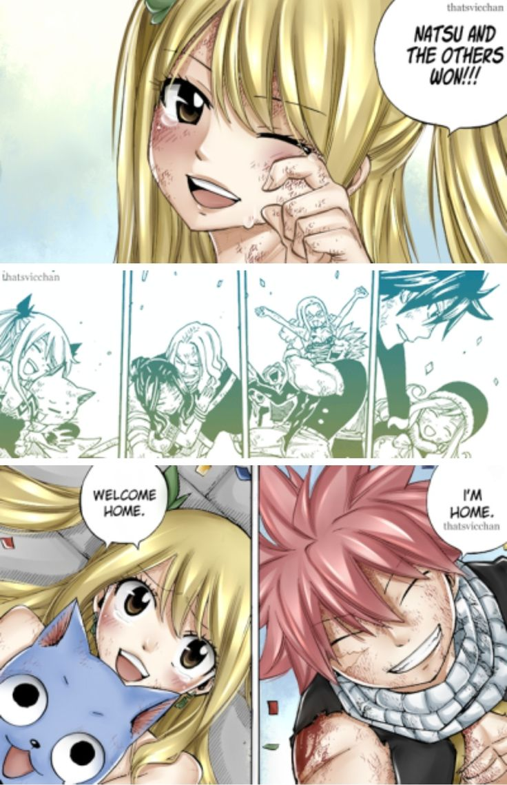 The end of the battle. Chapter 544