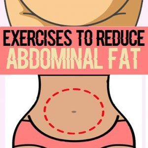 Effective Exercises to reduce Abdominal Fat