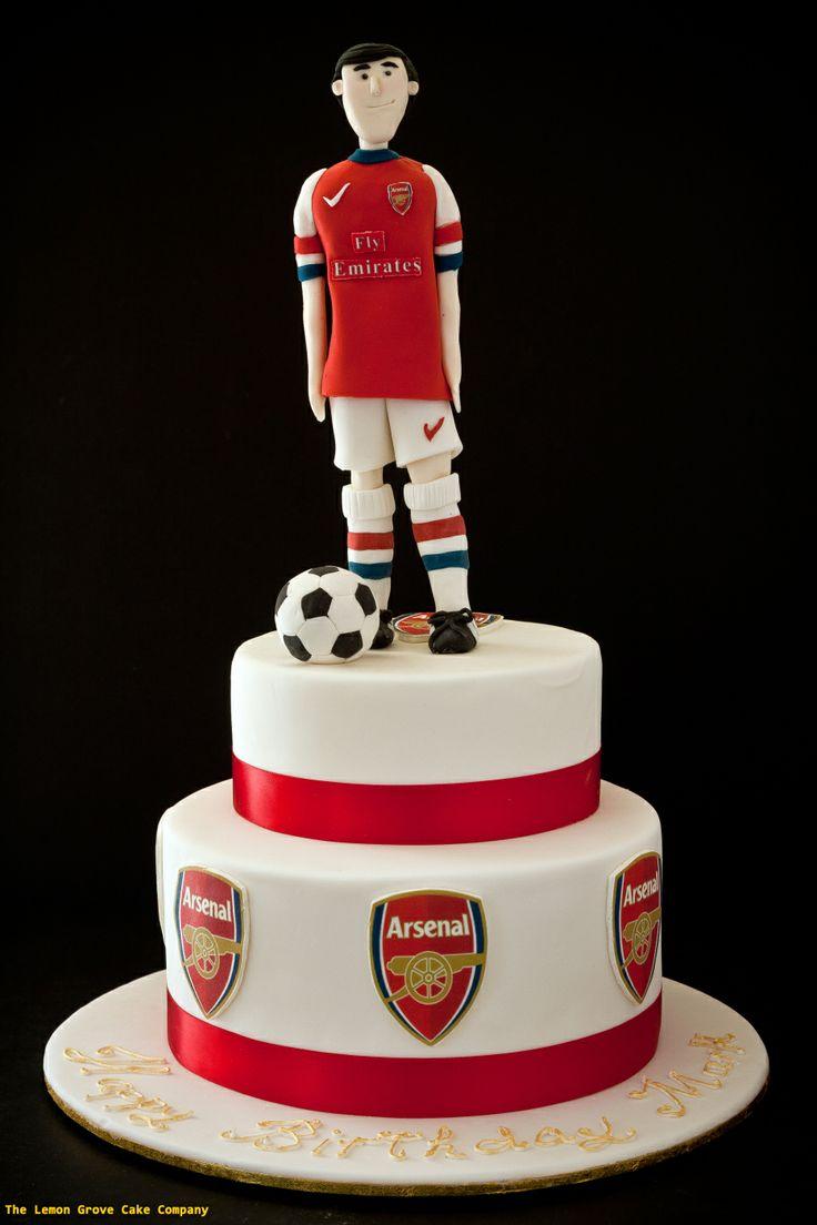 Arsenal Cakes Pinterest