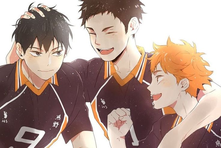 Proud dad and his sons || Haikyuu ♛
