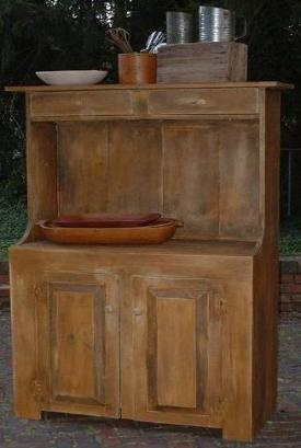 Just primitive handcrafted furniture dry sinks ohio for Kitchen cabinets zanesville ohio
