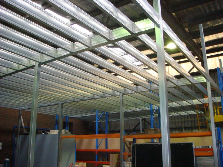 Boxspan Steel Mezzanine Floor Frame- From our Factory in Mittagong NSW. This is where our Steel Framing Supplies are manufactured.