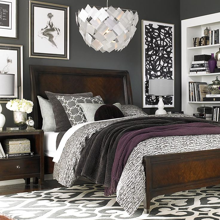 25 best ideas about dark wood bedroom on pinterest grey for Bedroom ideas dark wood