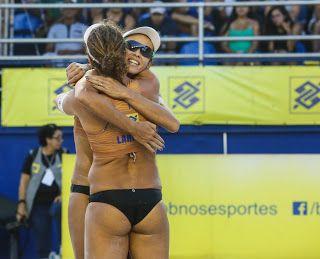 Blog Esportivo do Suíço: Larissa e Talita jogarão quarta final seguida contra Ágatha e Duda