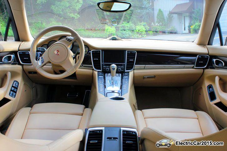 2015 Porshe Panamera S E Hybrid interior