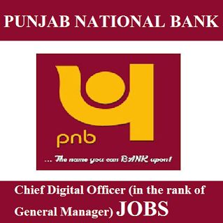 PNB Recruitment 2017   Chief Digital Officer (GM) Job   Apply Online   Sarkari Naukri