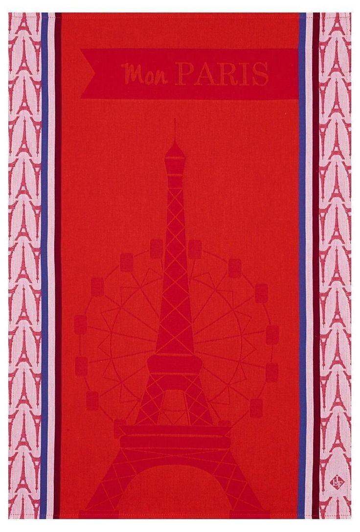 Mon Paris Red Towel NEW!