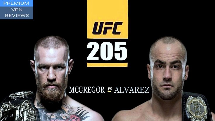 How to watch UFC 205 live Stream Alvarez Vs. McGregor