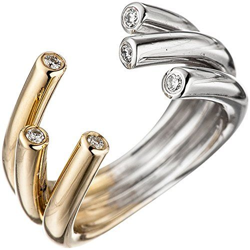 Dreambase Damen-Ring Gelbgold mit Weißgold kombiniert 14 ... https://www.amazon.de/dp/B01NAGF9B5/?m=A37R2BYHN7XPNV