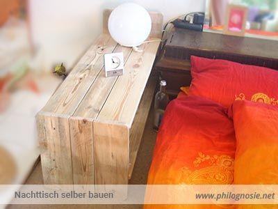 die besten 25 nachttisch selber bauen ideen auf pinterest diy nachttisch nachttisch design. Black Bedroom Furniture Sets. Home Design Ideas