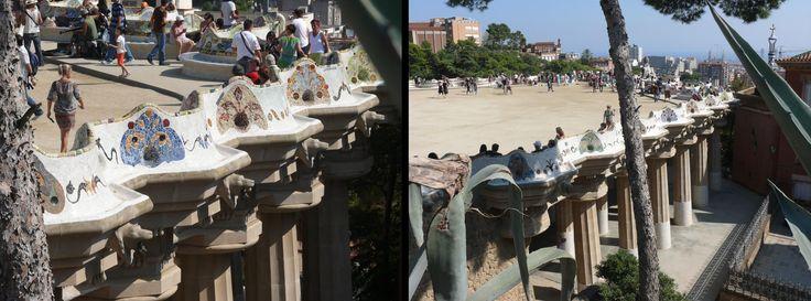 Antoni Gaudi. Parcul Guell-Barcelona 1903-1914. Plaforma