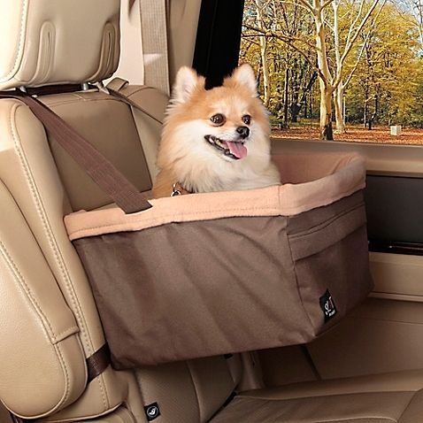 This pet booster seat lets you keep your pet safely in place in your car without sacrificing the view! The internal frame design supports seat from below, providing an unobstructed view for pets.