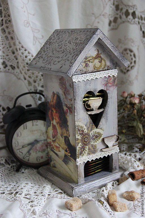 Купить Чайный домик Молитва - домик для чая, подарок для дома, чайный домик, подарок для женщины
