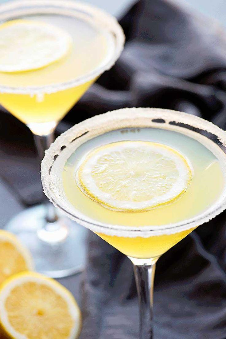 Lemon Drop Martini by Homemade Hooplah