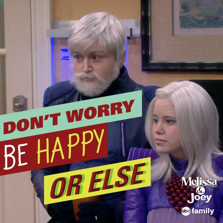 "S4 Ep18 ""Melissa & Joey's Frozen"" - ...Or else. #MelissaandJoey #FlashForwardWednesday"