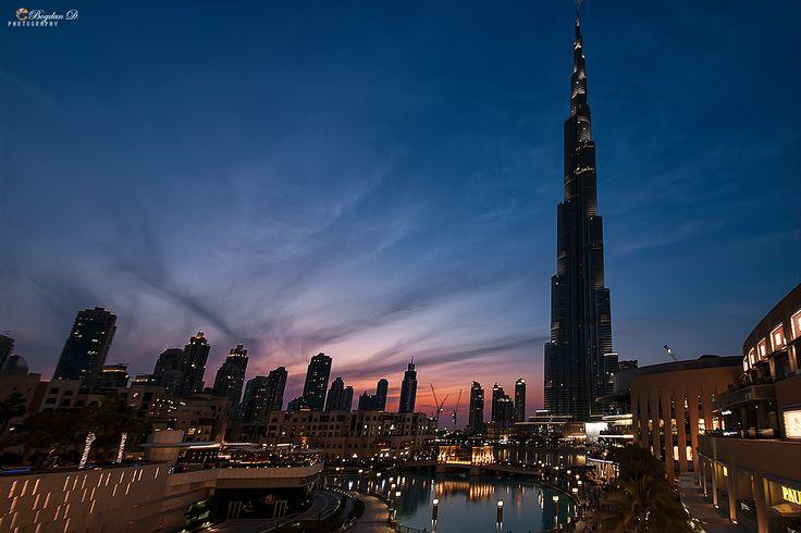 Wonderland…the Dubai experience. Burj Khalifa at dusk Full gallery on: https://bogdandanphotography.wordpress.com/2014/12/04/wonderland/