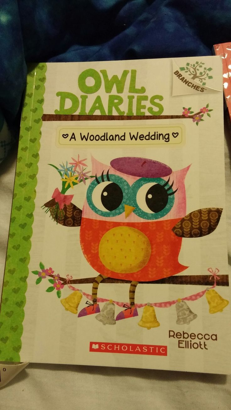 My Brand New Owl Diaries Book A Woodland Wedding That I Just Bought Today From Chapters/Indigo!😄😊☺😉😍😘❤💜💙💚💛💘💞💖💕💓💗💌💋💎💍👣💝🎍