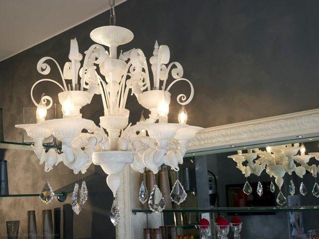 Lampadari in vetro di murano: 18 lampadario in vetro di murano vedi scheda