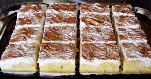 Pudingové rezy so škoricou *** Recept zde : http://www.mnamkyrecepty.sk/recipe/pudingove-rezy-so-skoricou/