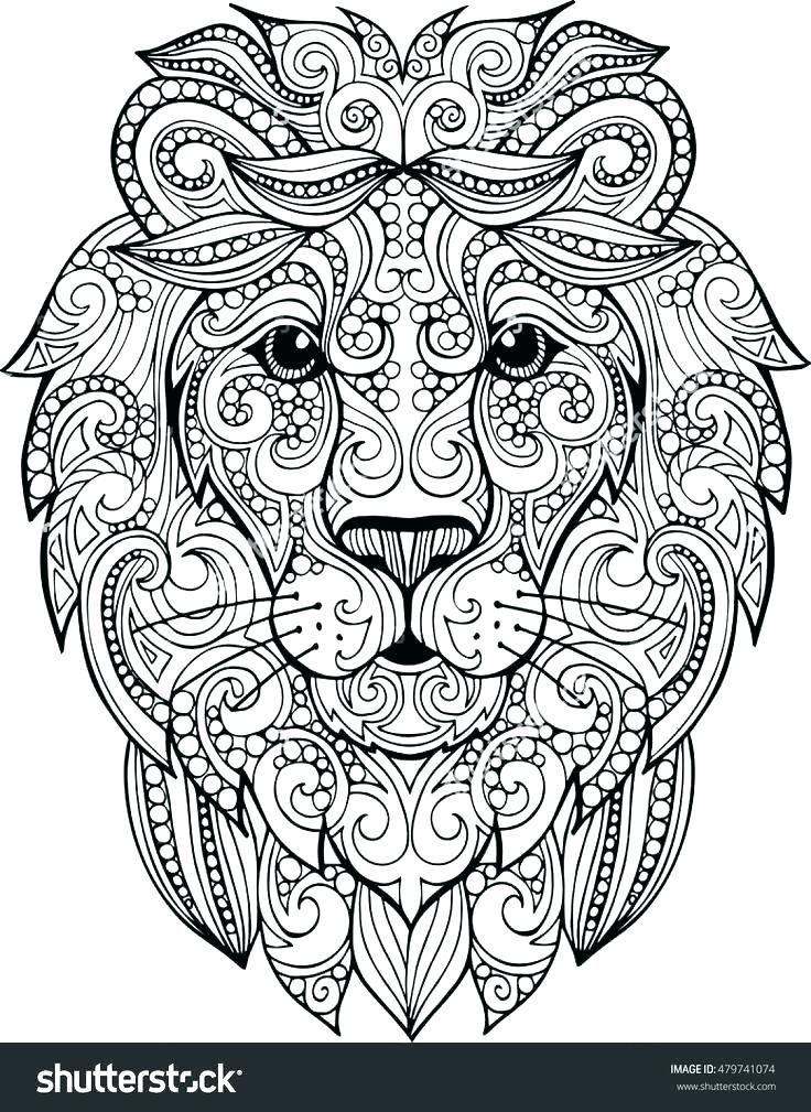 Coloring Pages Of Lions Lion National Geographic Best Ideas On Free Illustration Books King Printable