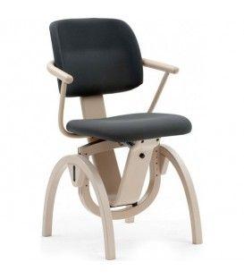 Chaise ergonomique Moizi 11 avec accoudoirs