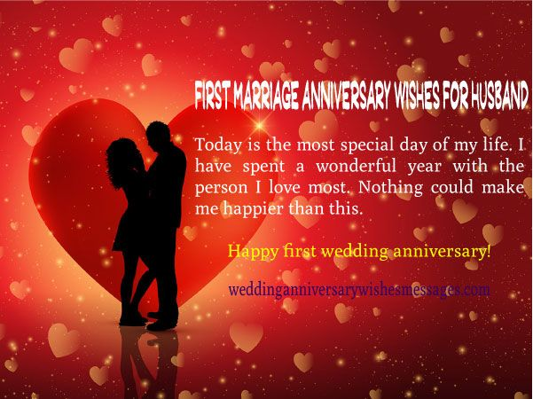 First Marriage Anniversary Wishes For Husband Wedding Anniversary Wishes Happy Wedding Anniversary Wishes Anniversary Wishes For Husband