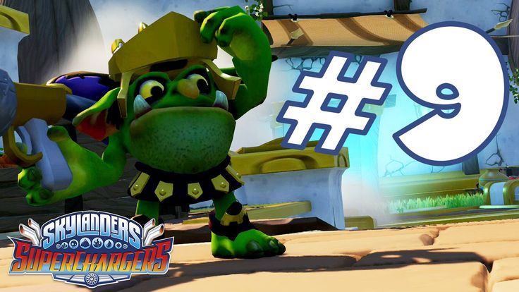 Skylanders Superchargers Gameplay ITA Walkthrough #9 - Kaos al Mercato -...