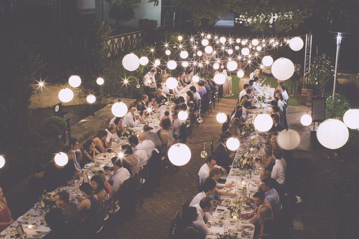 Lamonts Bishops House. Love this lighting and long table