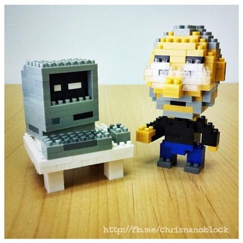Steve Jobs X nanoblock