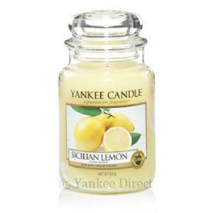 Yankee Candles UK   Yankee Candle Sicilian Lemon Large Jar