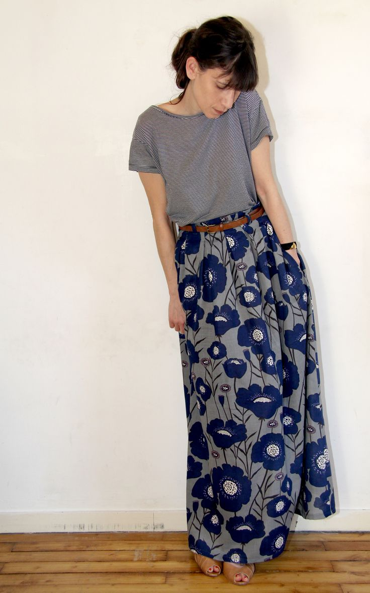 Chardon version maxi skirt par Jolies Bobines #couture