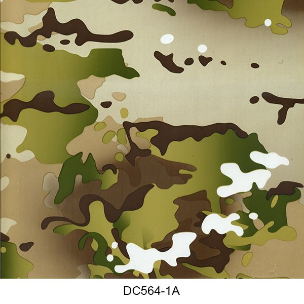 Hydro dipping film camouflage pattern DC564-1A