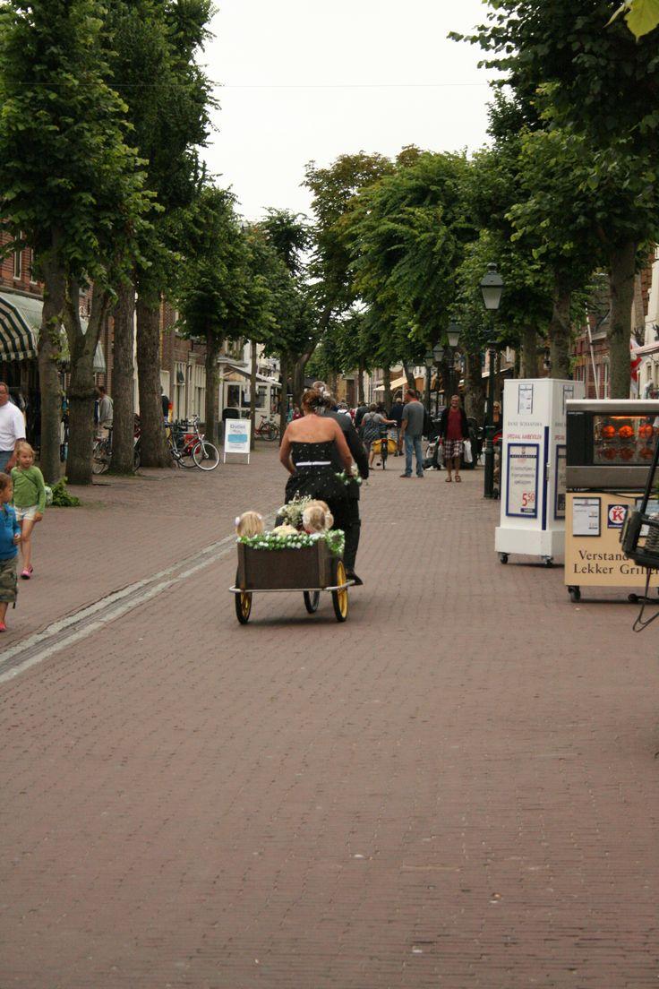 Byebye! Let's bike on the island Terschelling, The Netherlands