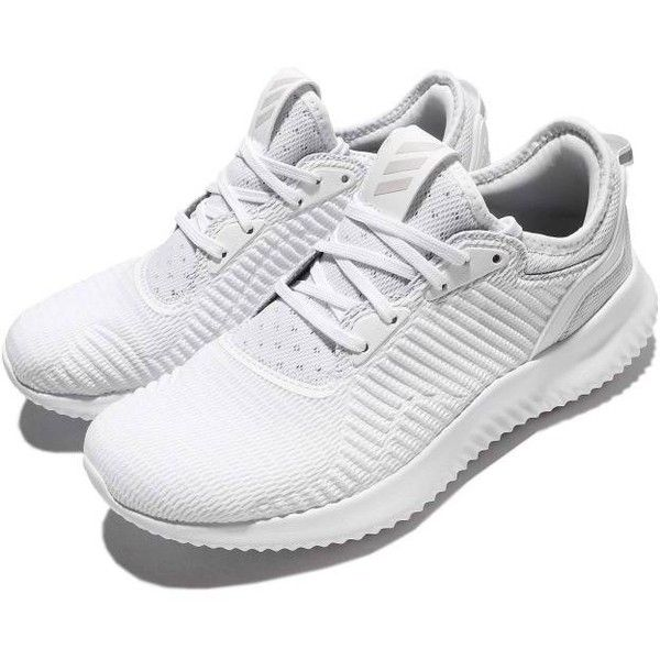 969b2b07b9225 adidas Alphabounce Lux W Triple White Women Running Shoes Sneaker... ( 93)  ❤ liked on Polyvore featuring shoes