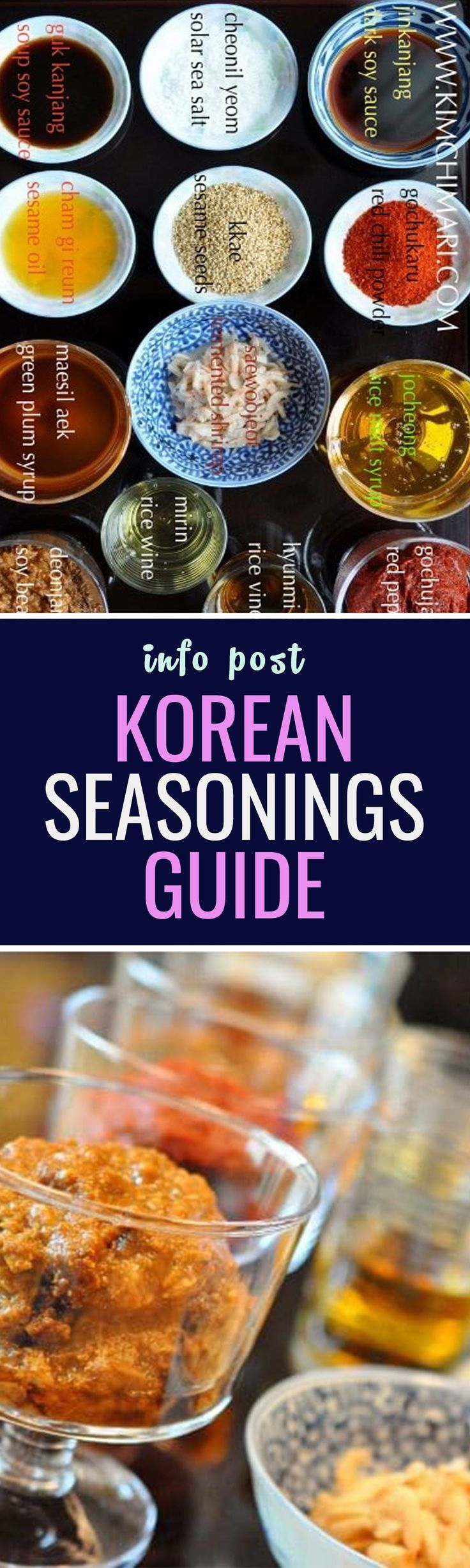 So what do you need for a Korean kitchen? Here is a guide for the basic sauce and condiments needed :) {Read|Find more} about {korean cuisine|korean food|korea food|south korean food} {clicking| - clic} link below: http://foodyoushouldtry.com/33-best-dishes-taste-korea/