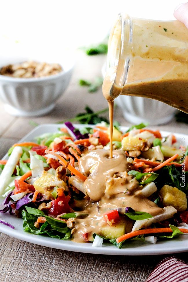 Asian Peanut Coconut Dressing + Blendtec #Giveaway!