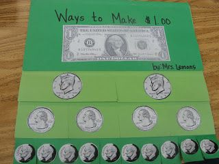 Step into 2nd Grade with Mrs. Lemons: Show me the MONEY!