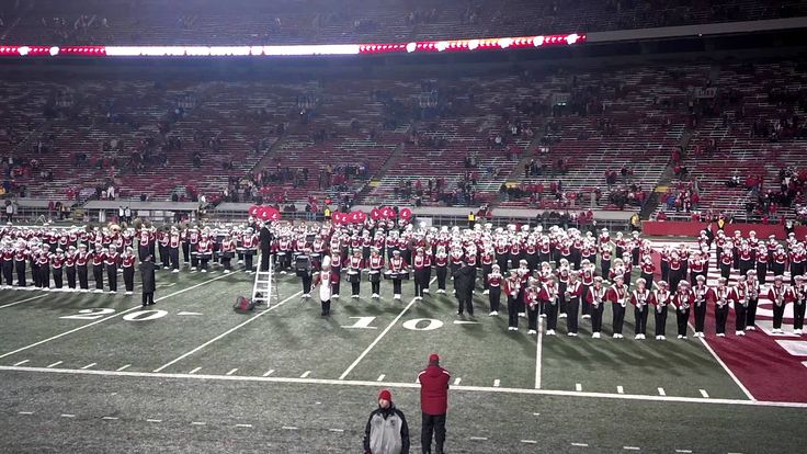 """University of Wisconsin Marching Band: """"On, Wisconsin"""" Fight Song"""