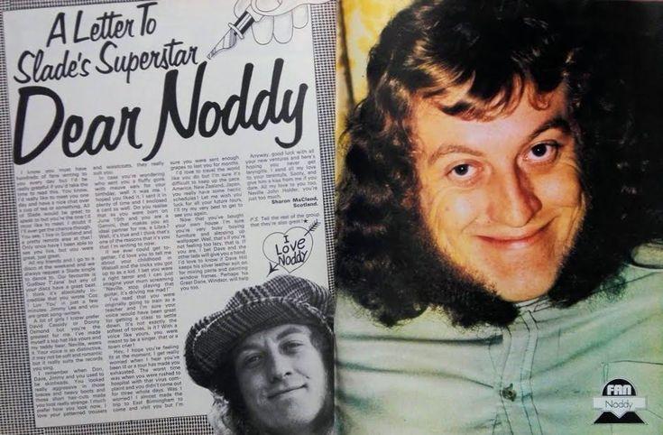 Noddy Holder #70s #fanmagazine