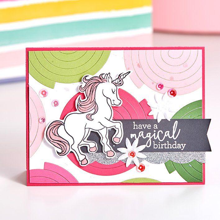 magical unicorn  cards handmade easy magic tricks cards