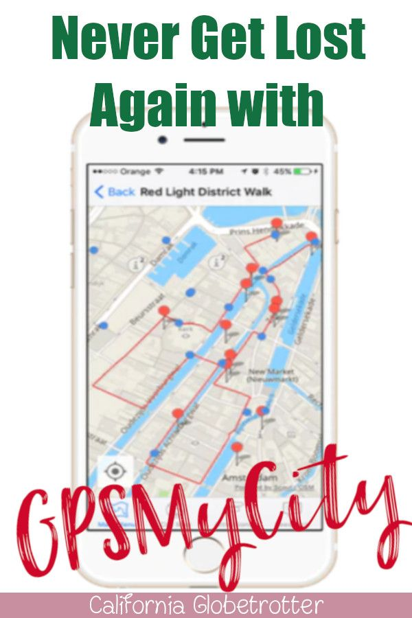 Never Get Lost Again With Gpsmycity Travel Advice Travel