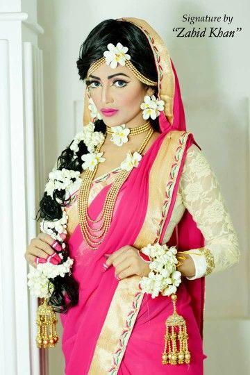 Bangladeshi model#holud ceremony attire#zahid khan makeover