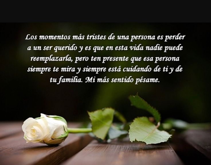 8 best Condolencias images on Pinterest Condolences, Sympathy - sympathy message