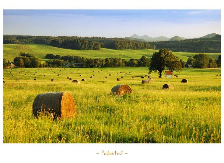 countryside near Ještěd (by Ladislav Renner)