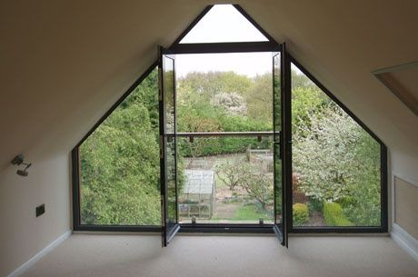 gable window fixed glass - Google Search