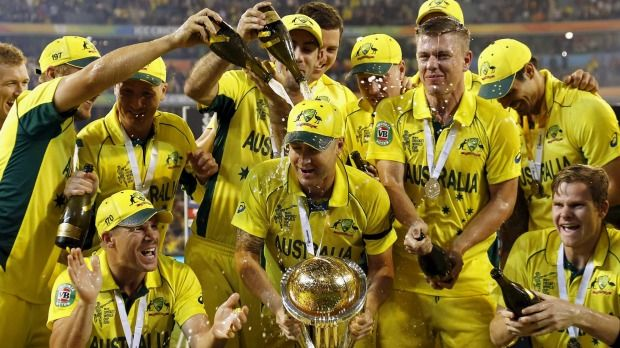 Needs to Change - Alcohol-Drenched Culture in ICC Cricket World Cup	On Sunday, Australia's one-day cricket team secured the ultimate prize: the 2015 ICC Cricket World Cup. The morning after, the Aussie team's cup should be brimming with accolades and congratulations for their on-field dominance over : ~ http://www.managementparadise.com/forums/icc-cricket-world-cup-2015-forum-play-cricket-game-cricket-score-commentary/281713-needs-change-alcohol-drenched-culture-icc-cricket-world-cup.html