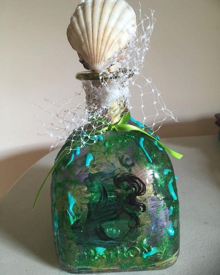 Mermaid Lantern by Pixie-Wildflower.deviantart.com on @DeviantArt