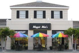 Maggie Mae's. Great breakfasts and a cool place.