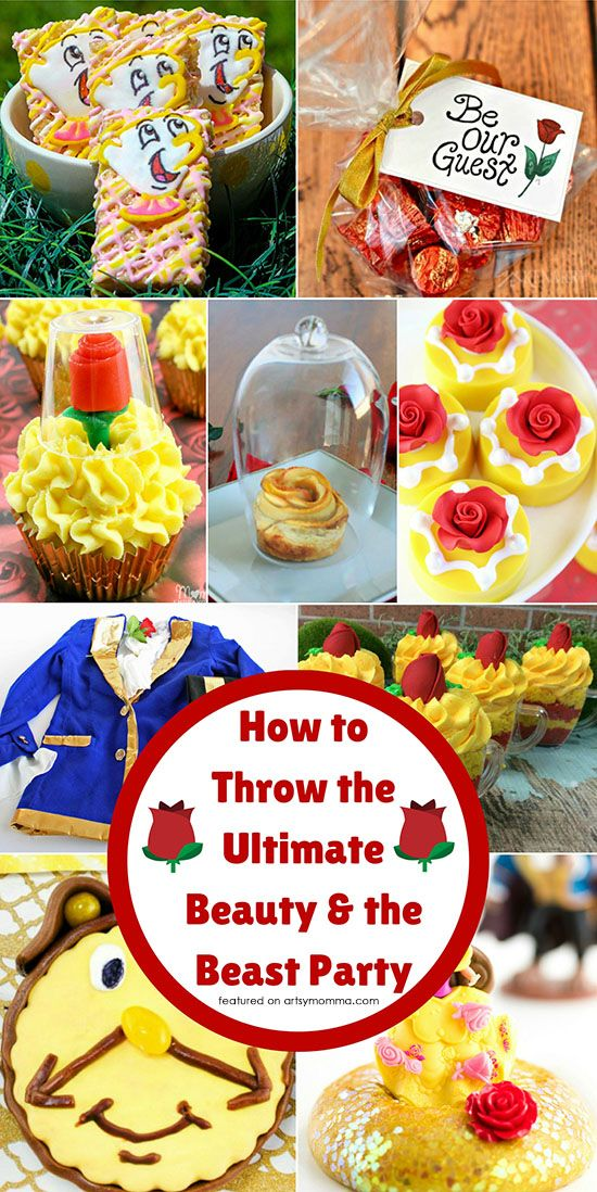 In this post, we will share with you an amazing list of fun Beauty and The Beast Party Ideas! Ultimate Guide to Plan a Princess Belle Party